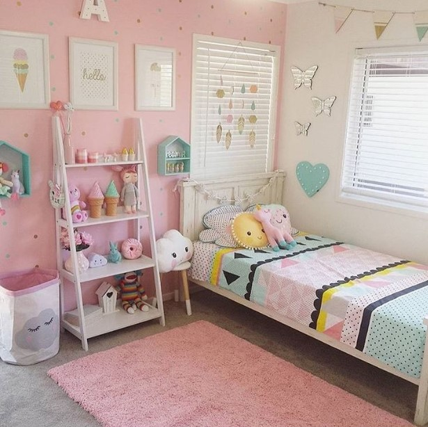 50 cute teenage girl bedroom ideas how to make a small - Cute girl room ideas ...