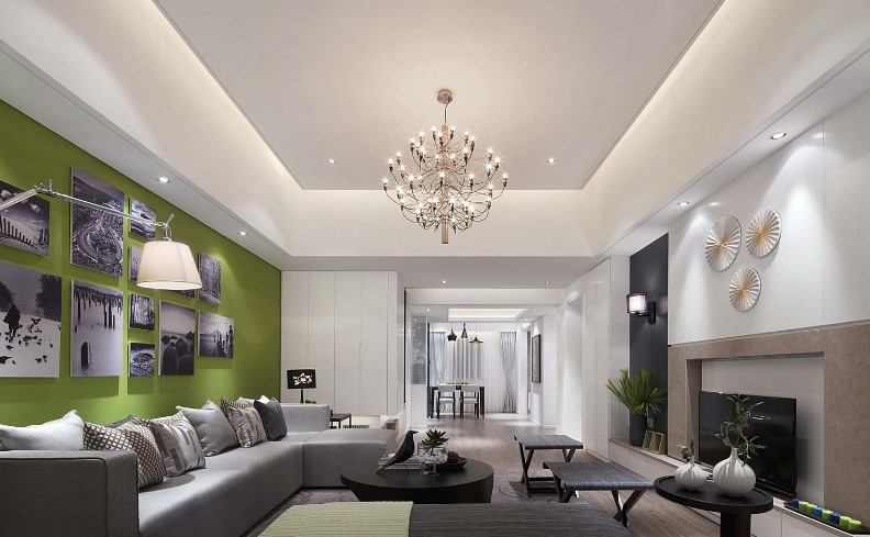 30 Latest False Ceiling Design For Rectangular Living Room