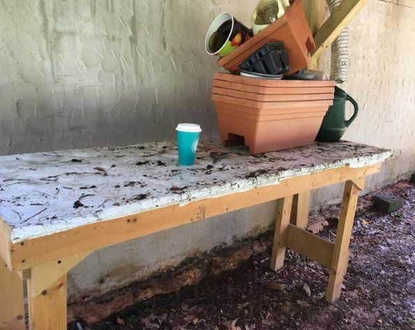 Awesome where to buy a potting bench #pottingbenchideas #benchdesign #pottingbench #benchideas