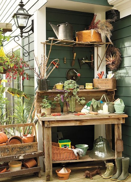 impressive the old potting bench #pottingbenchideas #benchdesign #pottingbench #benchideas