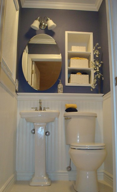overwhelming toilet design for small space #halfbathroomideas #halfbathroom #bathroomideas #smallbathroom