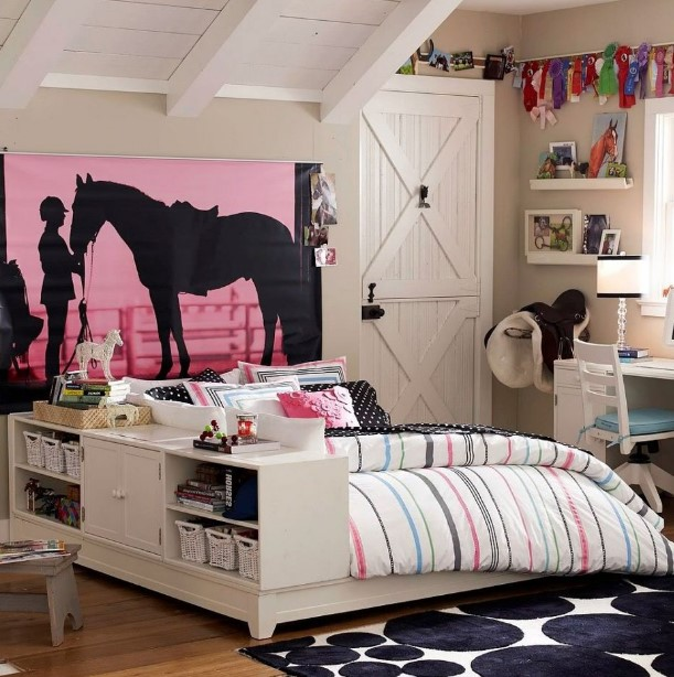 Convey Your Little Girl S Personality Through Her Bedroom: 50 Cute Teenage Girl Bedroom Ideas