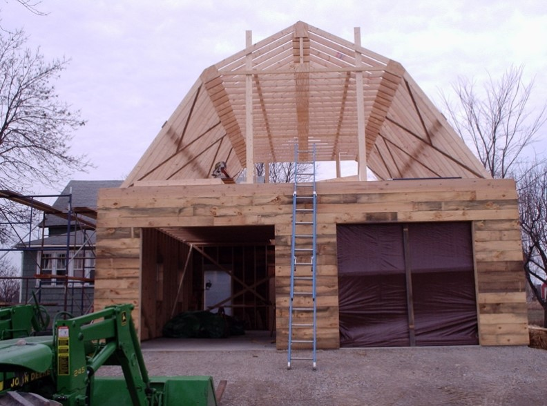 All about gambrel roof calculation implementation how for Gambrel roof metal building
