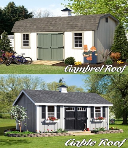 Gambrel Roof Shed vs. Gable Roof Shed: What's the Difference?