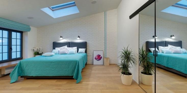 Mansard Roof interior design ideas
