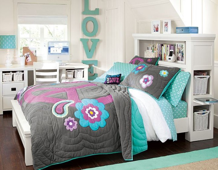 50 cute teenage girl bedroom ideas how to make a small - Small room ideas for teenage girl ...