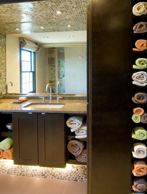 Amazing Bathroom Storage Design Ideas