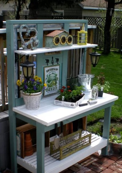 alarming work table design plans #pottingbenchideas #benchdesign #pottingbench #benchideas