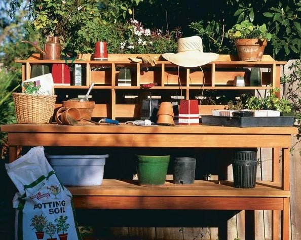 astonishing woodworking plans for potting bench #pottingbenchideas #benchdesign #pottingbench #benchideas