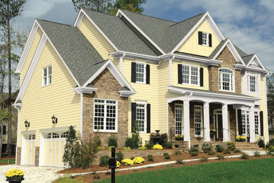 breathtaking residential exterior paint color design #exteriorpaint #paintcolor #homeexteriorcolor