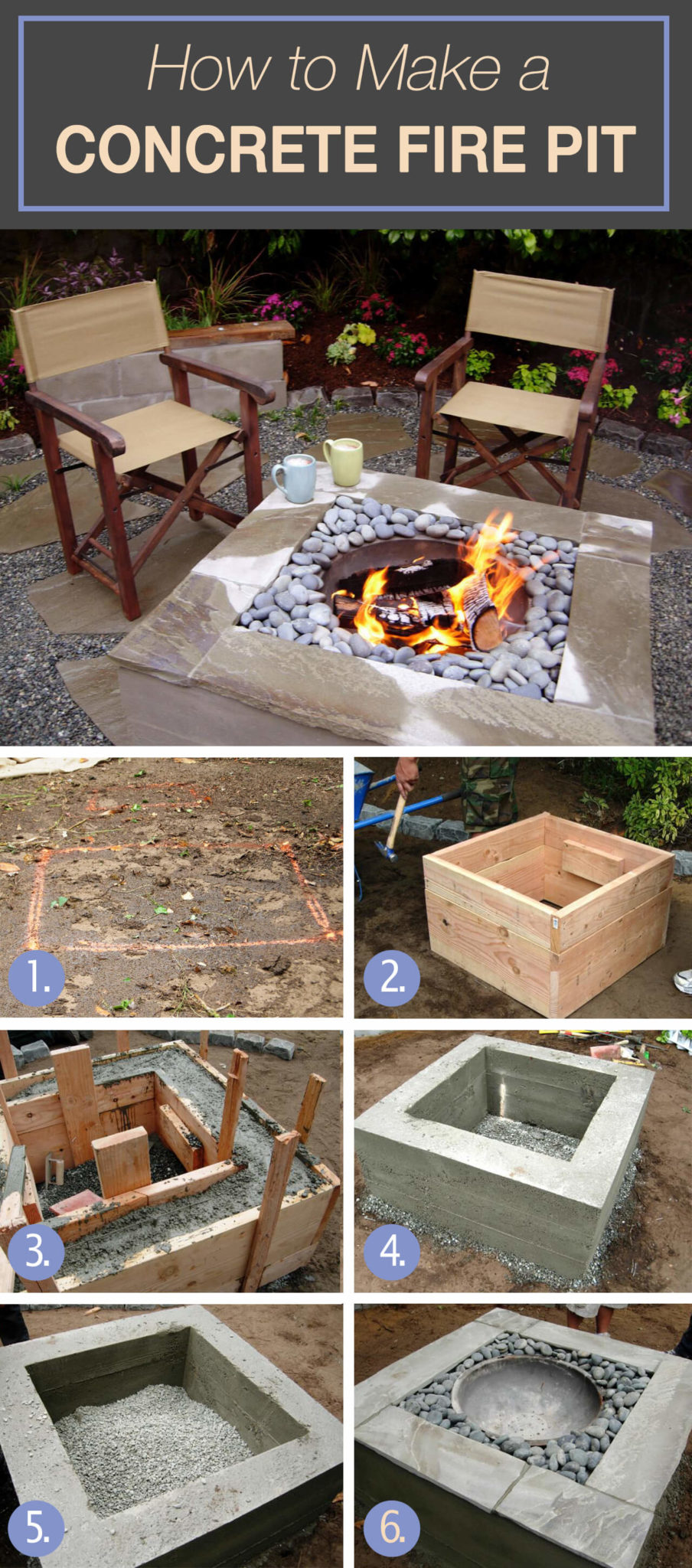 Amazing and easy diy fire pit ideas