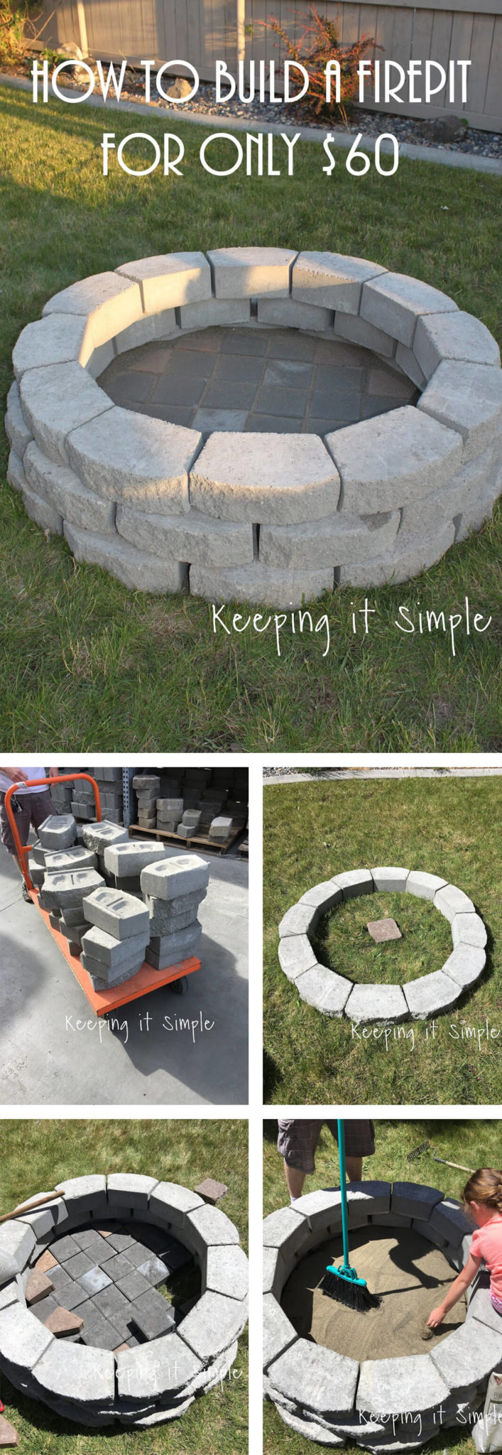50 Easy DIY Fire Pit Design Ideas for 2018 | Advantages & How To ...