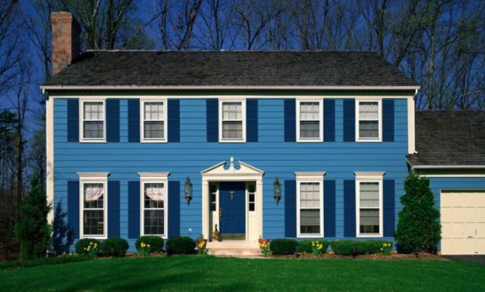 stunning small house exterior paint colors #exteriorpaint #paintcolor #homeexteriorcolor