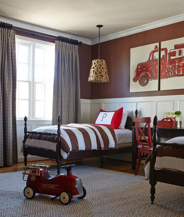 Boys Red Bedroom Ideas: 65 Cool And Awesome Boys Bedroom Ideas That Anyone Will
