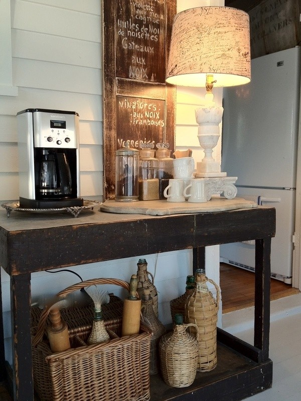 Amazing work coffee station #coffeebar #barideas #coffeestation #coffeebarideas