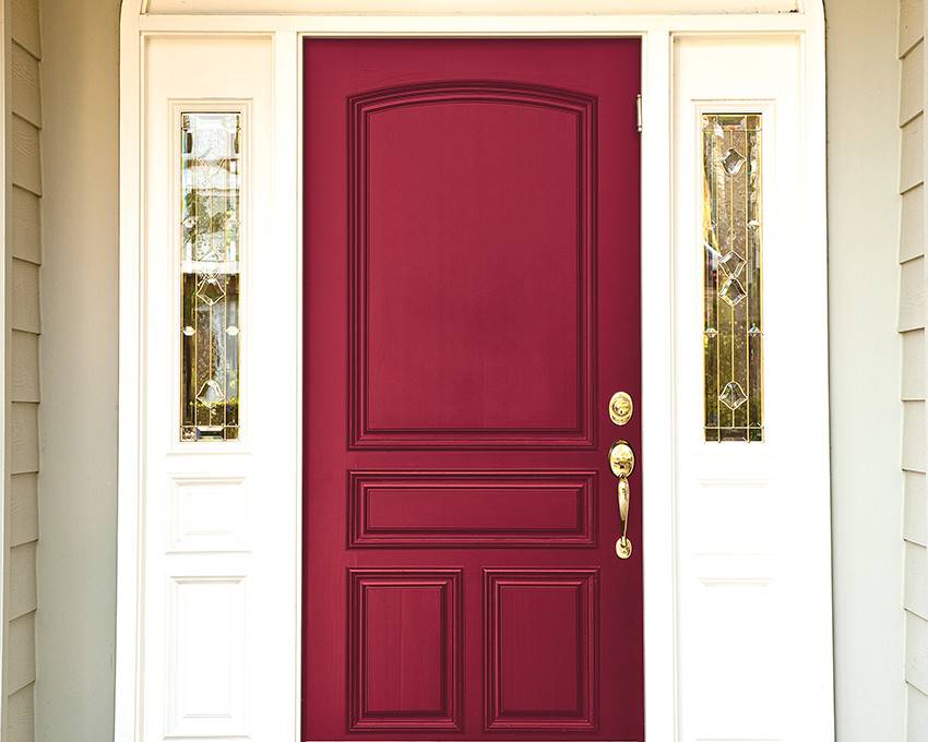 50 Best And Popular Front Door Paint Colors For 2018: best varnish for exterior doors