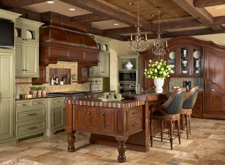 20 best and great kitchen island ideas to enliven your home for Kitchen ideas no island