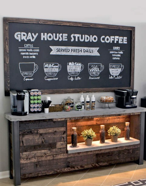 DIY Coffee Bar Ideas For Your Amazing Home