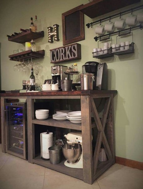 imposing things in a coffee bar #coffeebar #barideas #coffeestation #coffeebarideas