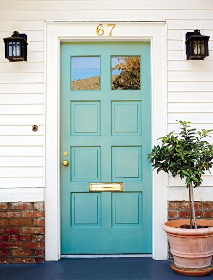 Most Popular Front Door Colors : Best and popular front door paint colors for