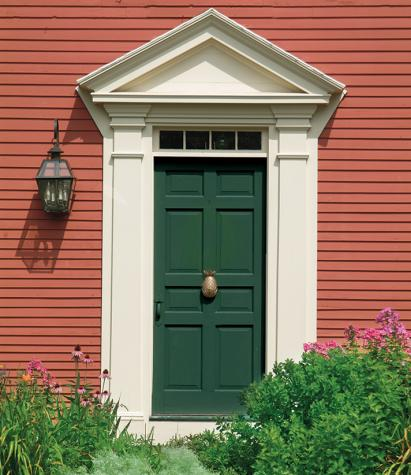 intimidating what color front door goes with a brown house #frontdoorcolor #frontdoorpaintcolor #paintcolor
