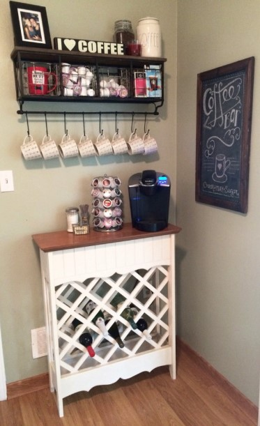 astonishing vintage coffee bar ideas #coffeebar #barideas #coffeestation #coffeebarideas