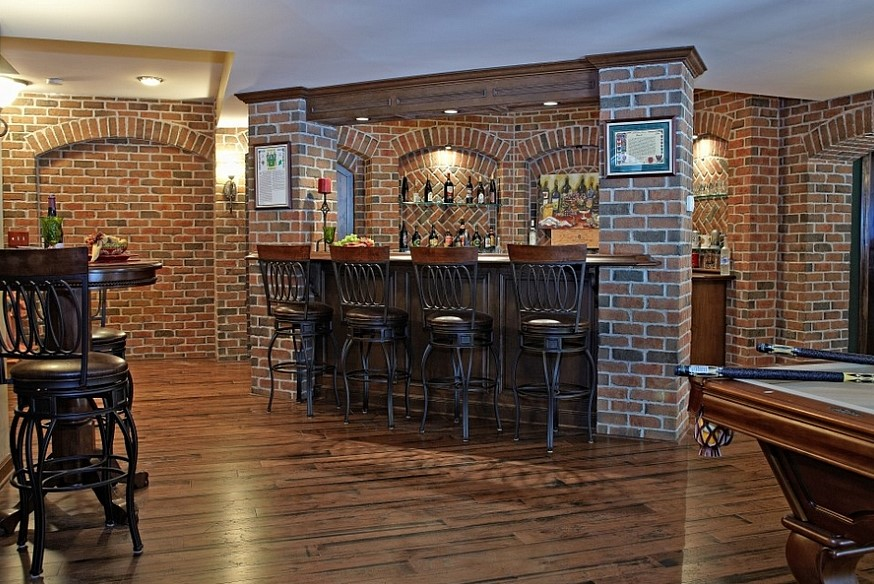 Decoist.com Best Basement Bar Ideas U0026 Design For Your Home