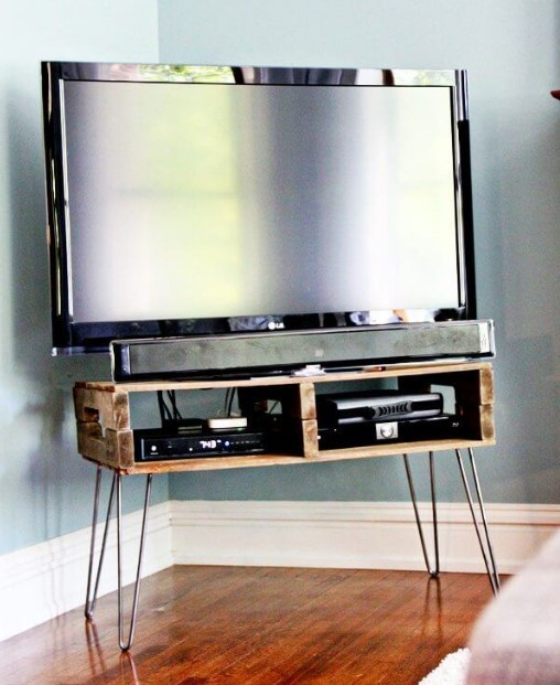Best DIY TV Stand Ideas For Your Room Interior