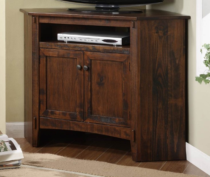 Rustic Corner TV Stand Best DIY Ideas For Your Room Interior