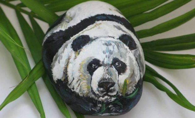 Cute things to paint on rocks #animalpaintedrock #paintedrock #rockpainting #animalstoneart