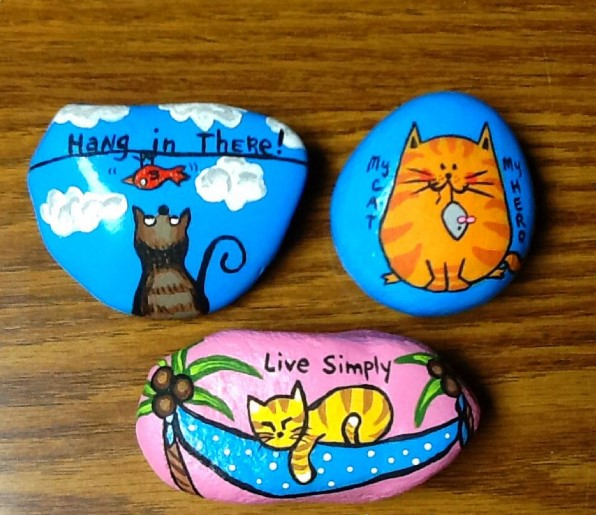 horrifying stone painting for kids #animalpaintedrock #paintedrock #rockpainting #animalstoneart