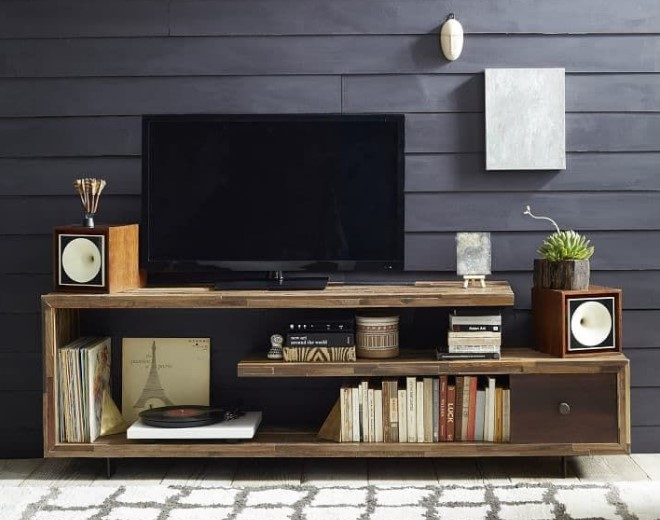 35+ DIY TV Stand Ideas, a Deluxe Way to Get Your Own Fancy