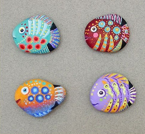 impressive what kind of paint to use on rocks outside #animalpaintedrock #paintedrock #rockpainting #animalstoneart