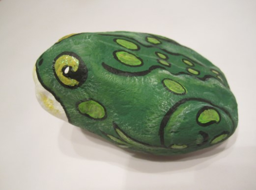 Fascinating unique painted rocks #animalpaintedrock #paintedrock #rockpainting #animalstoneart