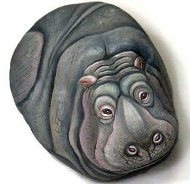 awe-inspiring supplies for rock painting #animalpaintedrock #paintedrock #rockpainting #animalstoneart