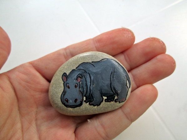breathtaking stone painting techniques #animalpaintedrock #paintedrock #rockpainting #animalstoneart