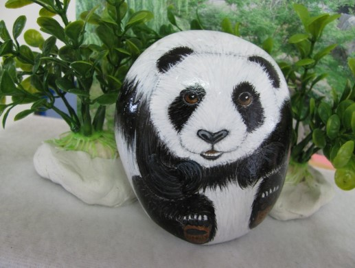 Beautiful the painted rock animal sanctuary #animalpaintedrock #paintedrock #rockpainting #animalstoneart