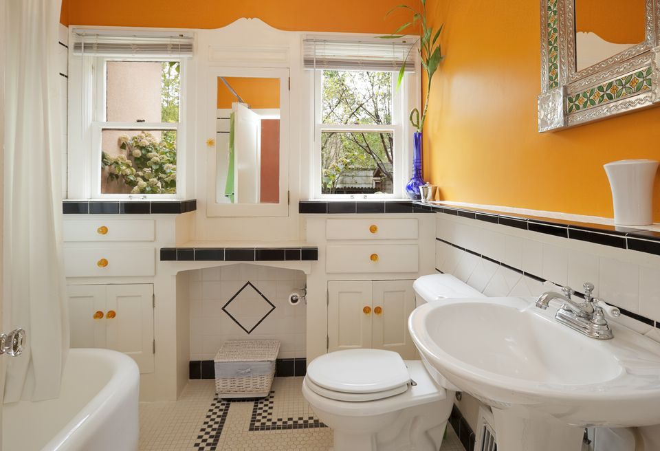 60 Bathroom Paint Color Ideas that Makes you Feel Comfortable in your Own Place