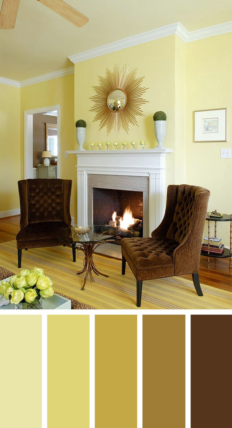 Living Room Painting Design: 50 Living Room Paint Color Ideas For The Heart Of The Home