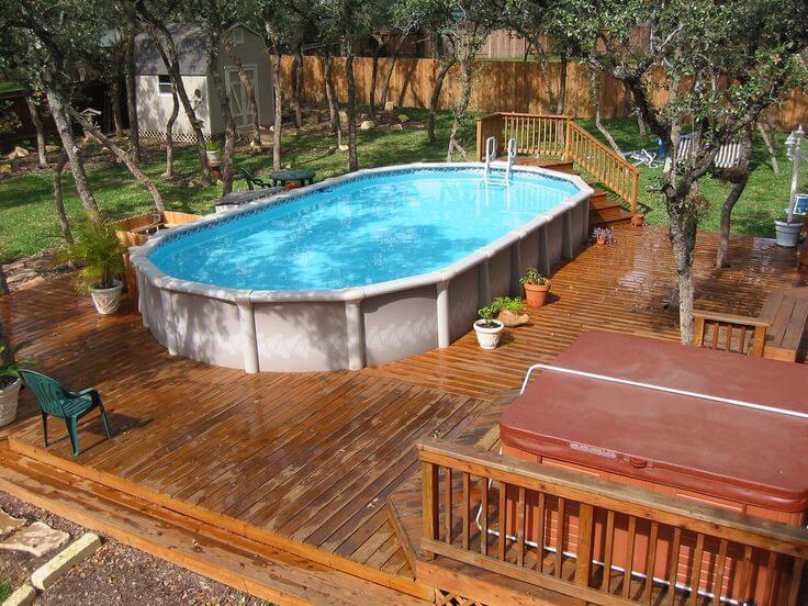 Best Above Ground Pools with Decks design ideas