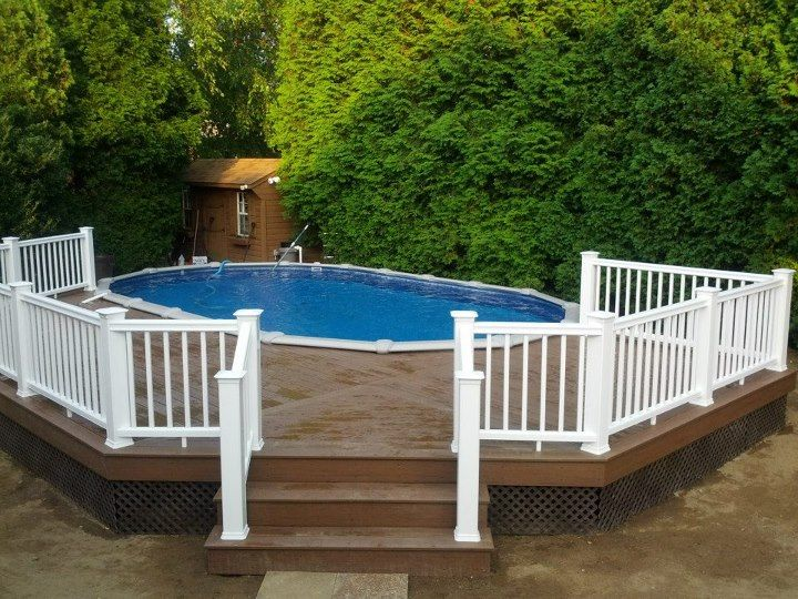 50 Best Above Ground Pools With Decks