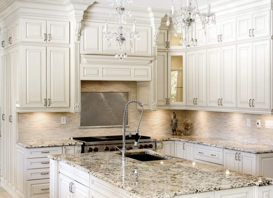 Best Antique White Cabinets Enhance Your Kitchen