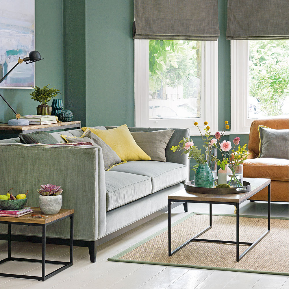 Green-living-room-ideas-green-sofa - TDF Blog