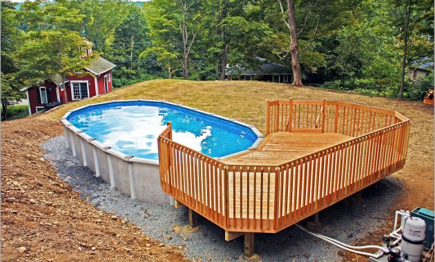 Complete Above Ground Oval Pool Sizes Decorative