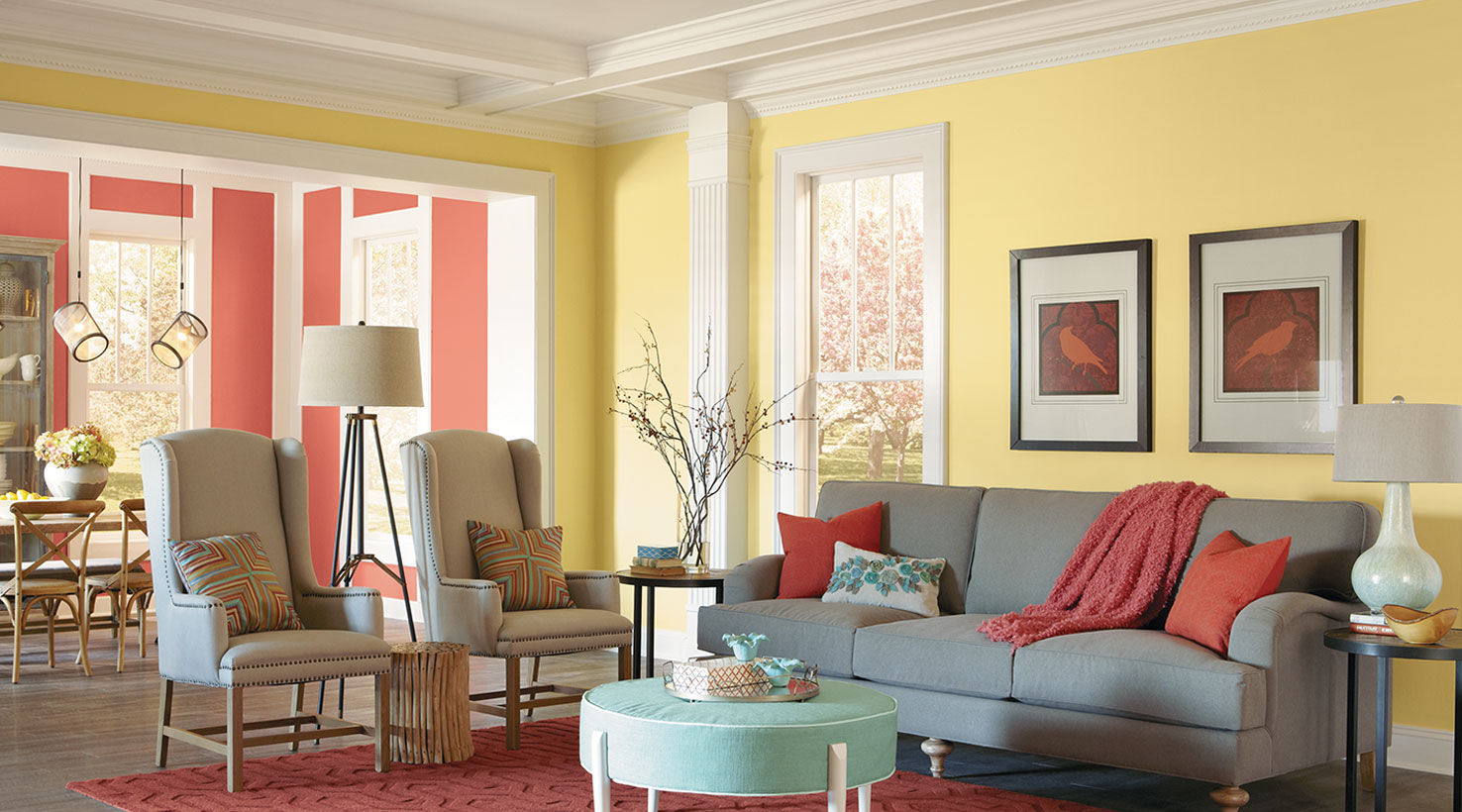 10+ Living Room Paint Color Ideas for the Heart of the Home