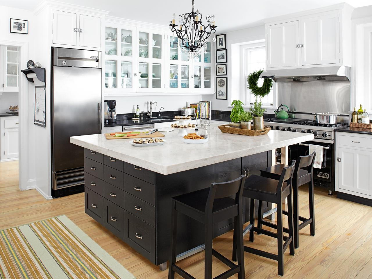 60 kitchen island ideas leaven up your cookery. Black Bedroom Furniture Sets. Home Design Ideas