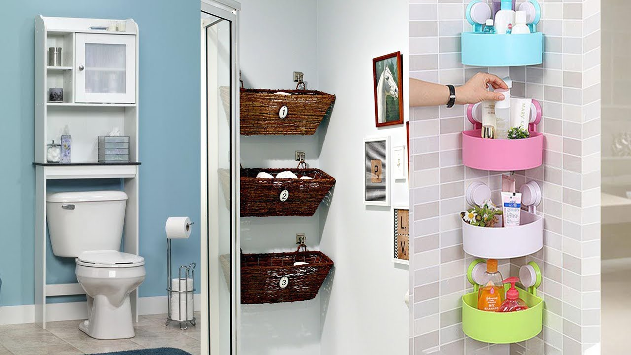 50 bathroom storage ideas mess trimming adorn your private loo Storage solutions for tiny bathrooms