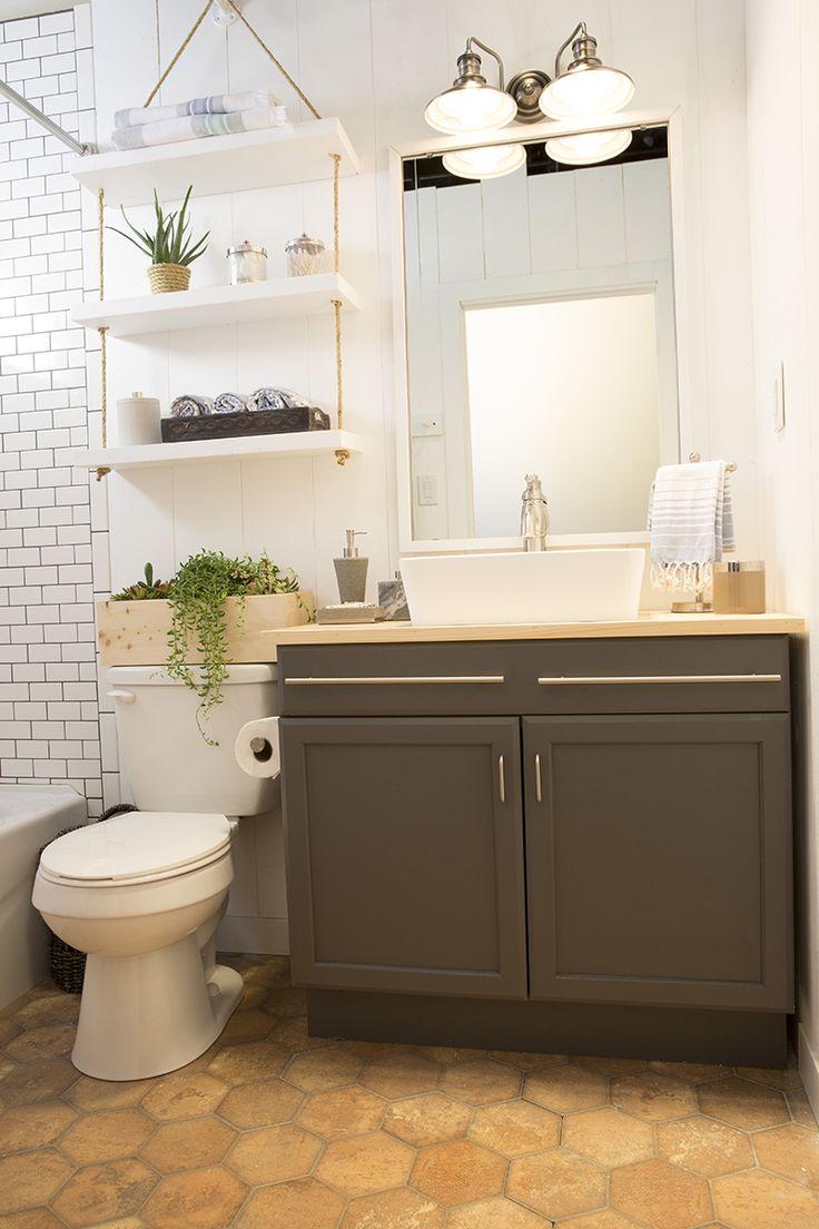 Minimalist Bathroom Toiletries Hidden Toilet Design
