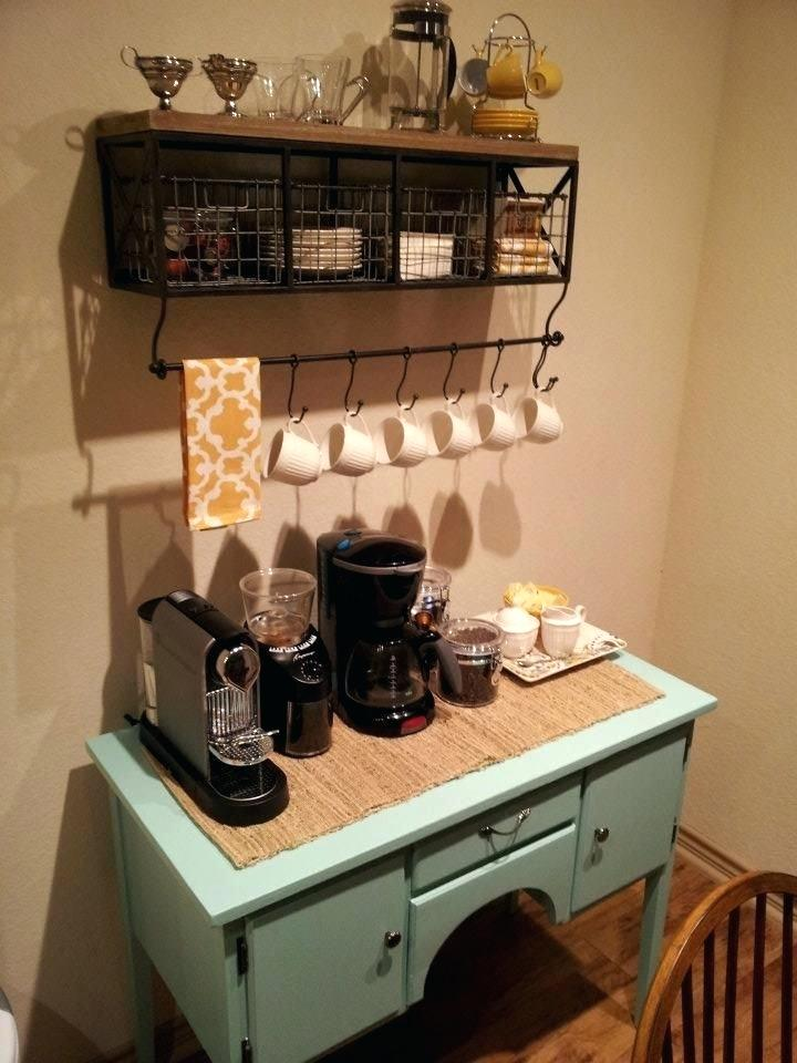 50 diy coffee bar ideas inside the home for coffee enthusiast. Black Bedroom Furniture Sets. Home Design Ideas