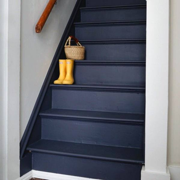 Top 50 Best Wood Stairs Ideas: 50 Best Painted Stairs Ideas For Your Modern Home [Images]